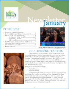 January 2016 HDA Industry Update
